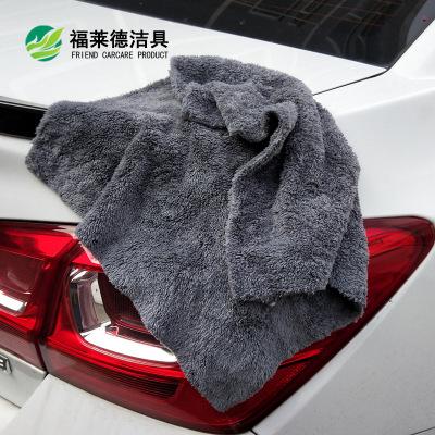 珊瑚绒毛巾 超声波热切珊瑚绒洗车毛巾加厚吸水珊瑚绒擦车巾