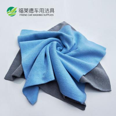 超细纤维大珍珠抛光打蜡洗车毛巾擦车巾超声波热切不易掉毛巾