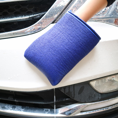 汽车美容清洗布去污布洗车磨泥布磨泥洗车手套去污盘磨泥盘火山泥